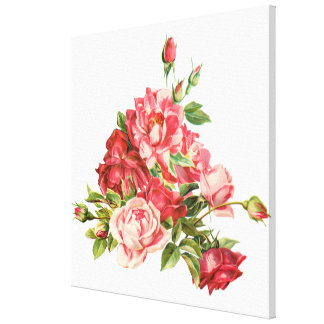 red roses,flowers,home decor collections gallery wrap canvas