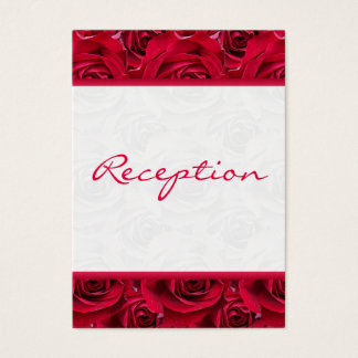 Red Roses Galore Enclosure Card