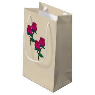 Red Roses Gift Bag