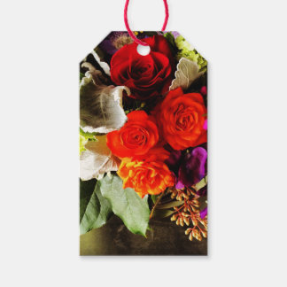 Red Roses Gift Tags Pack Of Gift Tags