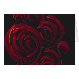 Red Roses in the Dark Card