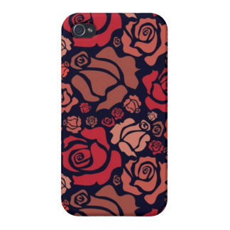 Red Roses - iPhone 4 Case