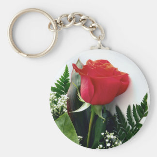 Red roses keychain