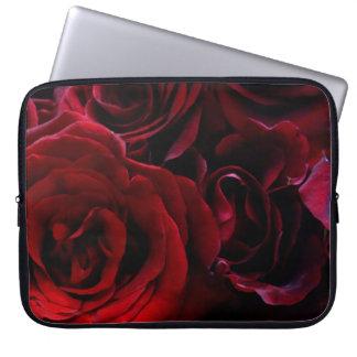 Red Roses Laptop Sleeves