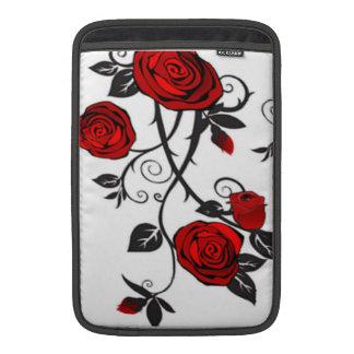 Red Roses MacBook Sleeves