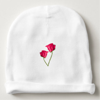 Red Roses Photo Baby Beanie