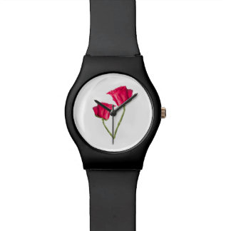 Red Roses Photo Watch