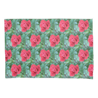RED ROSES pillow cases