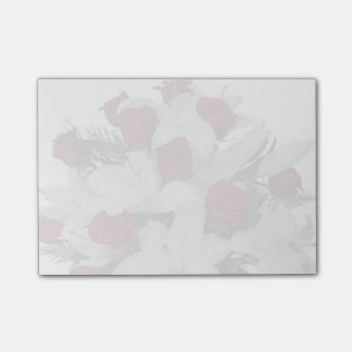 Red Roses Post-it Notes