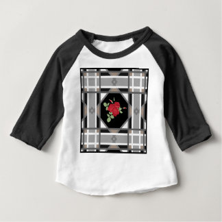 Red roses , retro baby T-Shirt