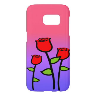 Red Roses Samsung Galaxy S7 Case