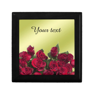 Red roses trinket boxes
