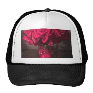 Red Roses Trucker Hat