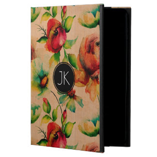 Red Roses Woos Texture Background Powis iPad Air 2 Case