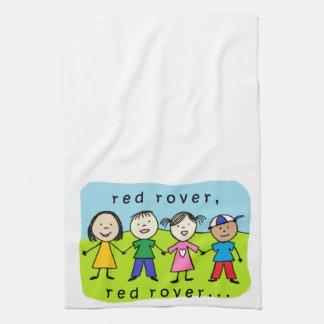 Red rover kids kitchen towel