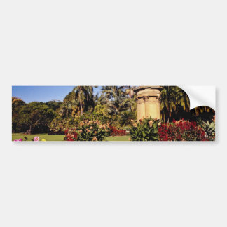 Red Royal Botanical Garden, Sydney, Australia flow Bumper Stickers