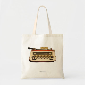 Red Royal Typewriter Tote Bag