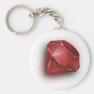 Red Ruby Keychain