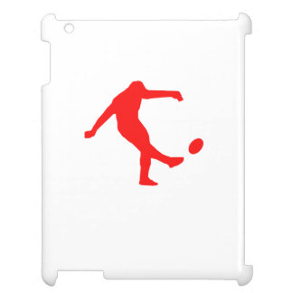 Red Rugby Kick iPad Covers