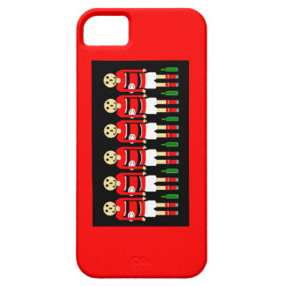 """ RED RUGBY PHONE CASE"" iPhone 5 COVER"