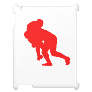 Red Rugby Tackle iPad Covers