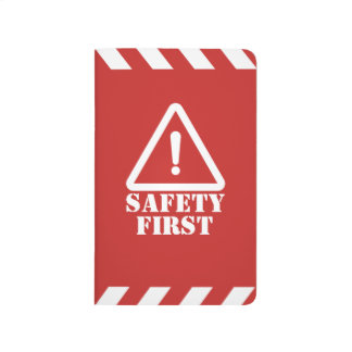 Red Safety First Journal
