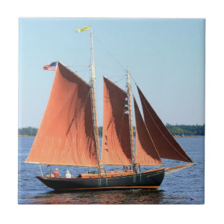 red sails schooner tile