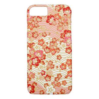 Red Sakura iPhone 7 Case