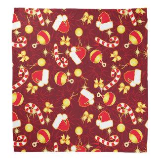 Red - Santa's cap Bandana