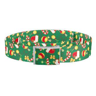 Red - Santa's cap Belt