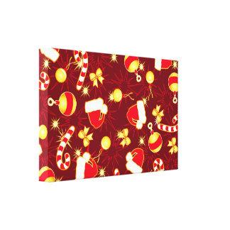 Red - Santa's cap Canvas Print