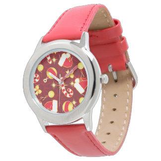 Red - Santa's cap Watch