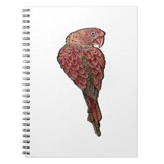 Red Scarlet Notebook