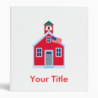 Red School House Binders