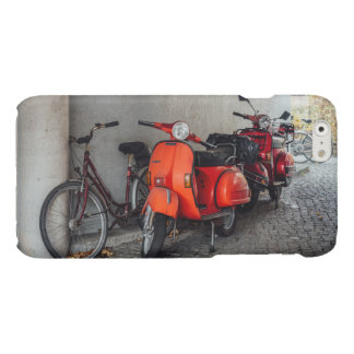 Red scooters in Berlin