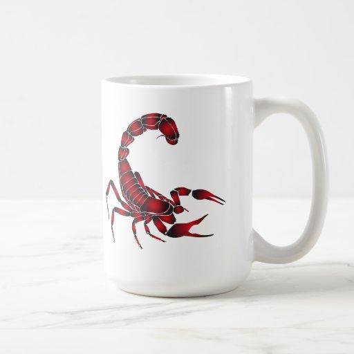 Red SCORPIO Mug