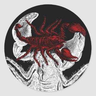 Red Scorpion - Sticker