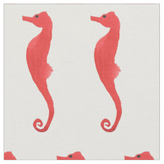 Red Sea Horse Fabric