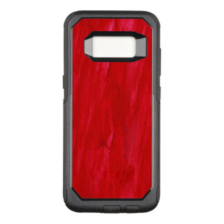 Red Seamless Background Abstract And Watercolor OtterBox Commuter Samsung Galaxy S8 Case