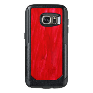 Red Seamless Background Abstract And Watercolor OtterBox Samsung Galaxy S7 Case
