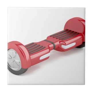 Red self-balancing scooter tile