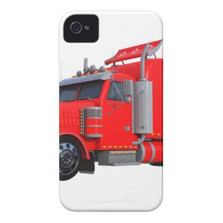 Red Semi Tracter Trailer Case-Mate iPhone 4 Case