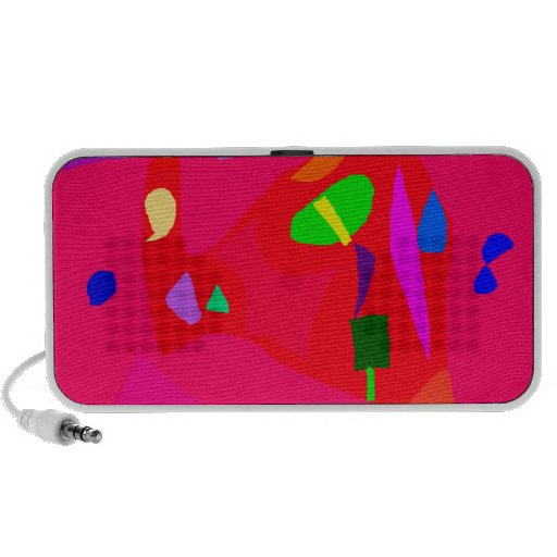 Red Sensation No Material Soul Engaging Notebook Speakers
