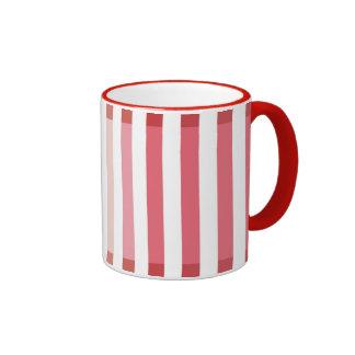 Red Shades Ringer Mug
