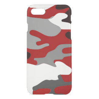 Red Shadows Camo iPhone 8/7 Case