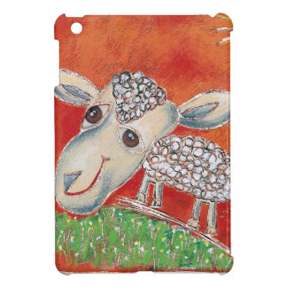 red sheep cover for the iPad mini