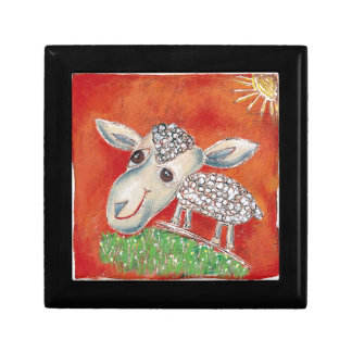 red sheep gift box