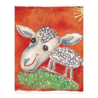 red sheep letterhead