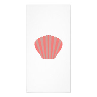 Red Shell Photo Greeting Card