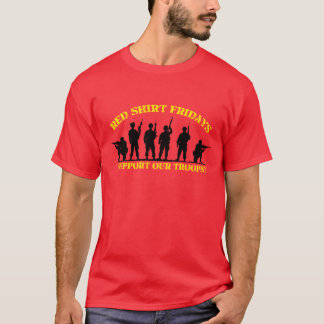 Red Shirt Fridays Support Our Troops
